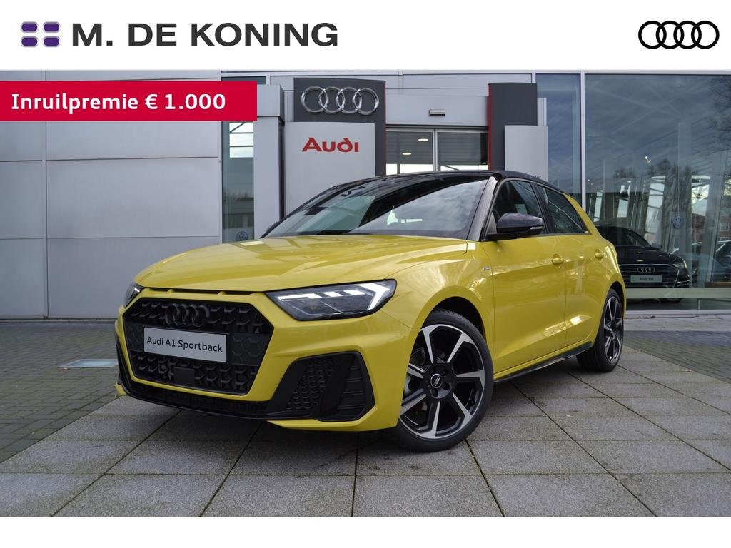 Audi A1 Sportback 30tfsi/116pk s-tronic automaat edition one · s line · airco volautomatisch · led koplampen