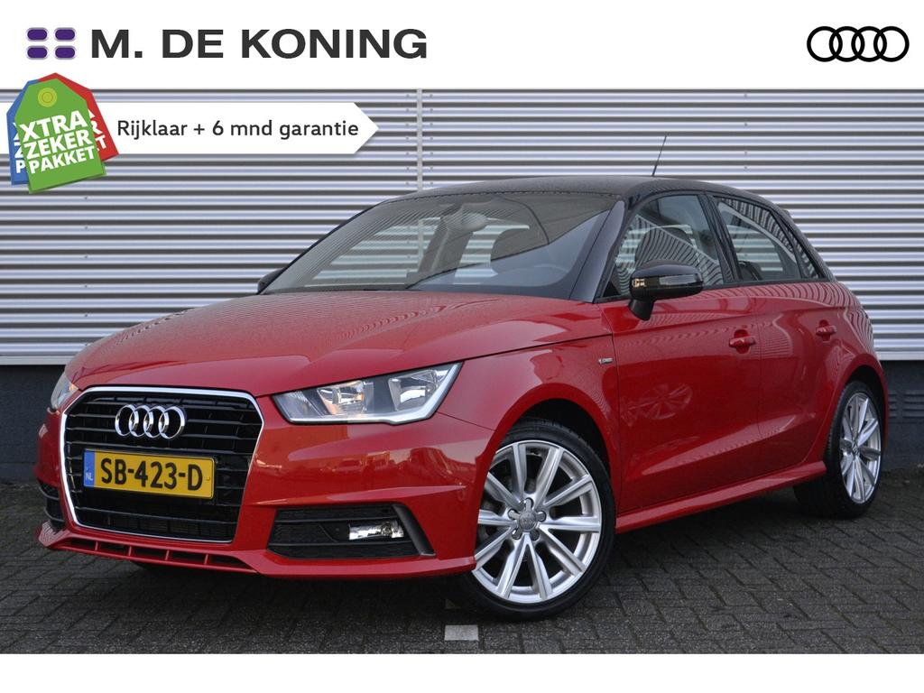 Audi A1 Sportback 1.0tfsi/96pk adrenalin · navigatie · cruise control · airco