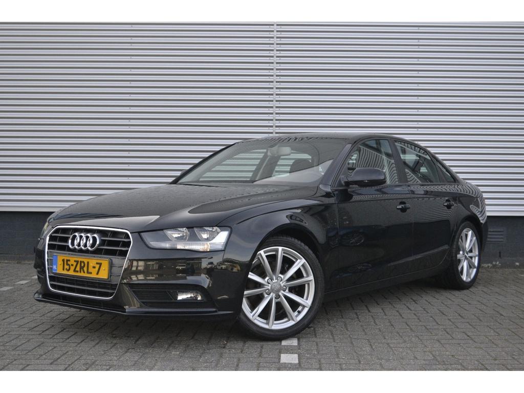 "Audi A4 2.0tdie/136pk pro line business · navigatie · cruise control · 18""lm"