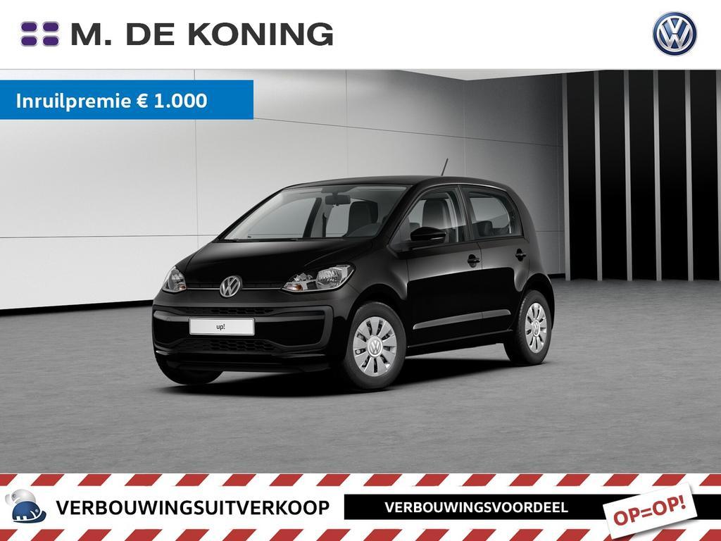 Volkswagen Up! 1.0/60pk move up! · smartphone integratie · airconditioning · radio 'composition phone'