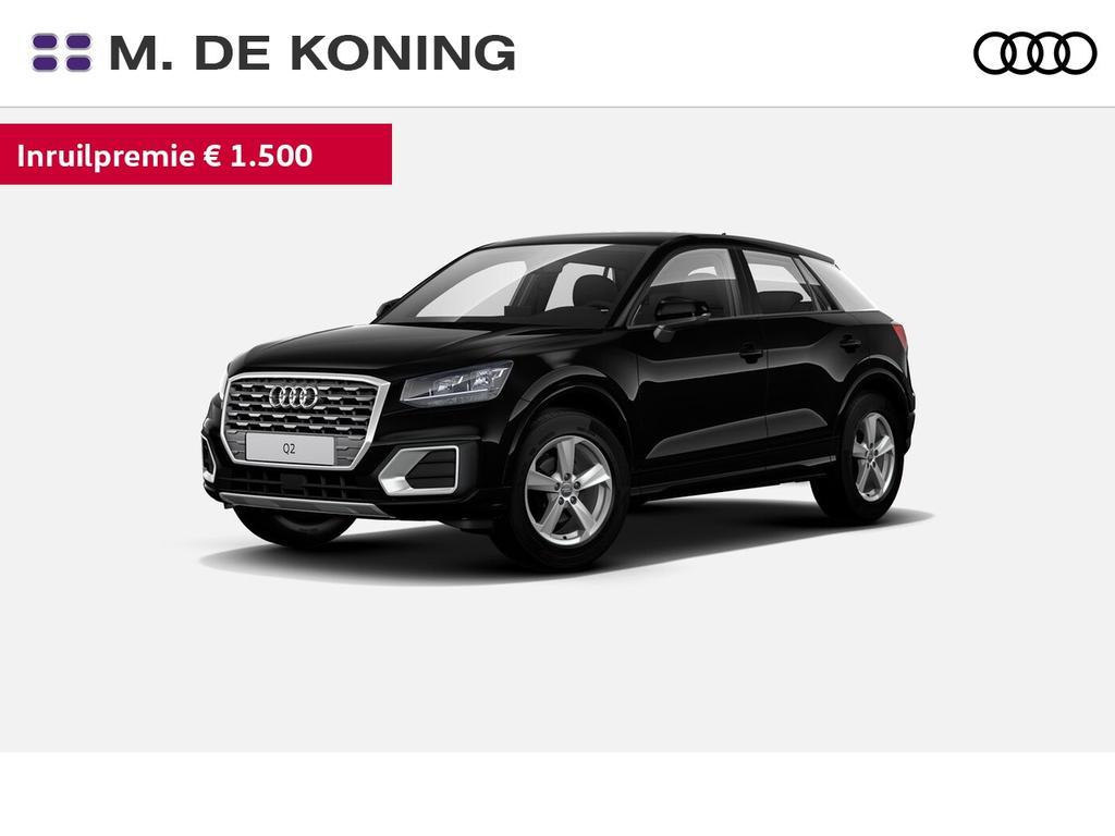 Audi Q2 30tfsi/116pk sport pro line · volautomatische airconditioning · navigatie · elektrisch inklapbare spiegels