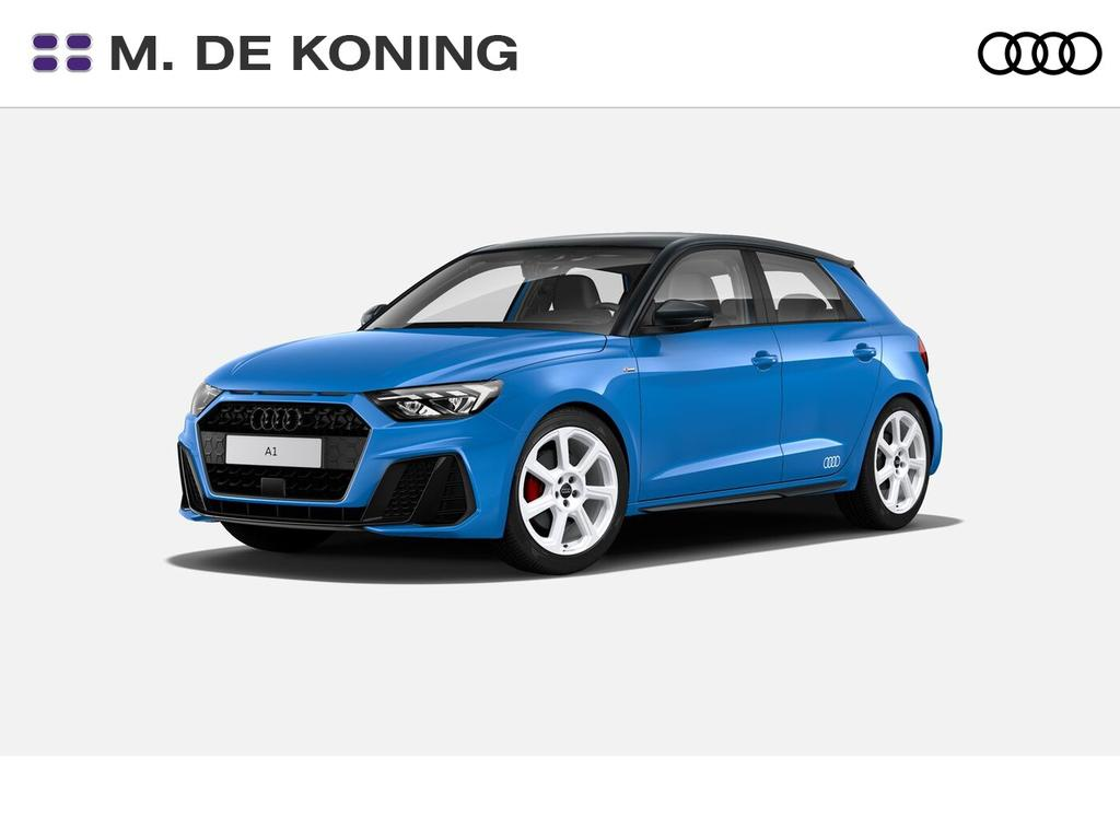 Audi A1 Sportback 30tfsi/116pk edition one · s line · airco volautomatisch · drive select