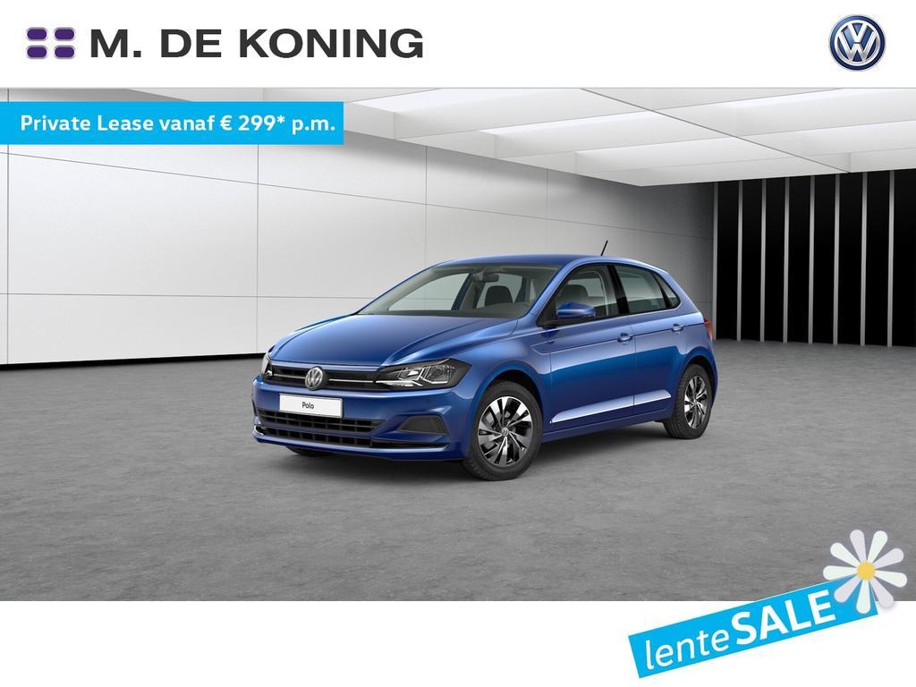 Volkswagen Polo 1.0tsi/95pk dsg automaat comfortline · parkeersensoren· 15 inch velgen · extra getint glas