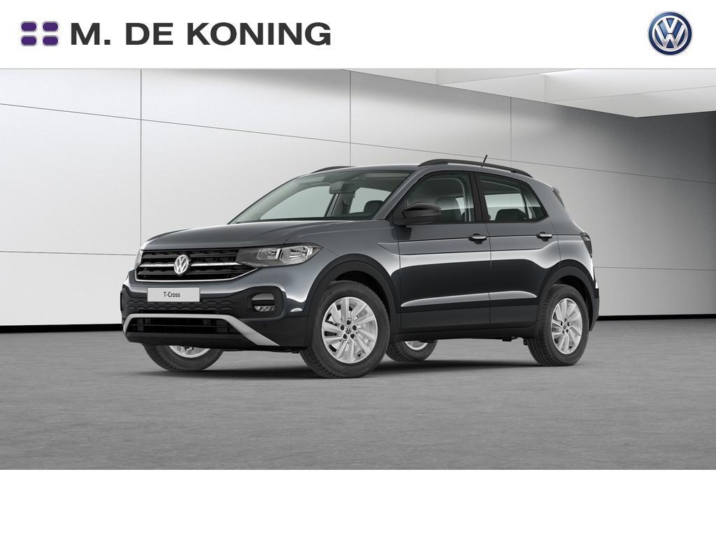 Volkswagen T-cross 1.0tsi/95pk life · parkeersensoren · dodehoeksensor · uitparkeerassistent