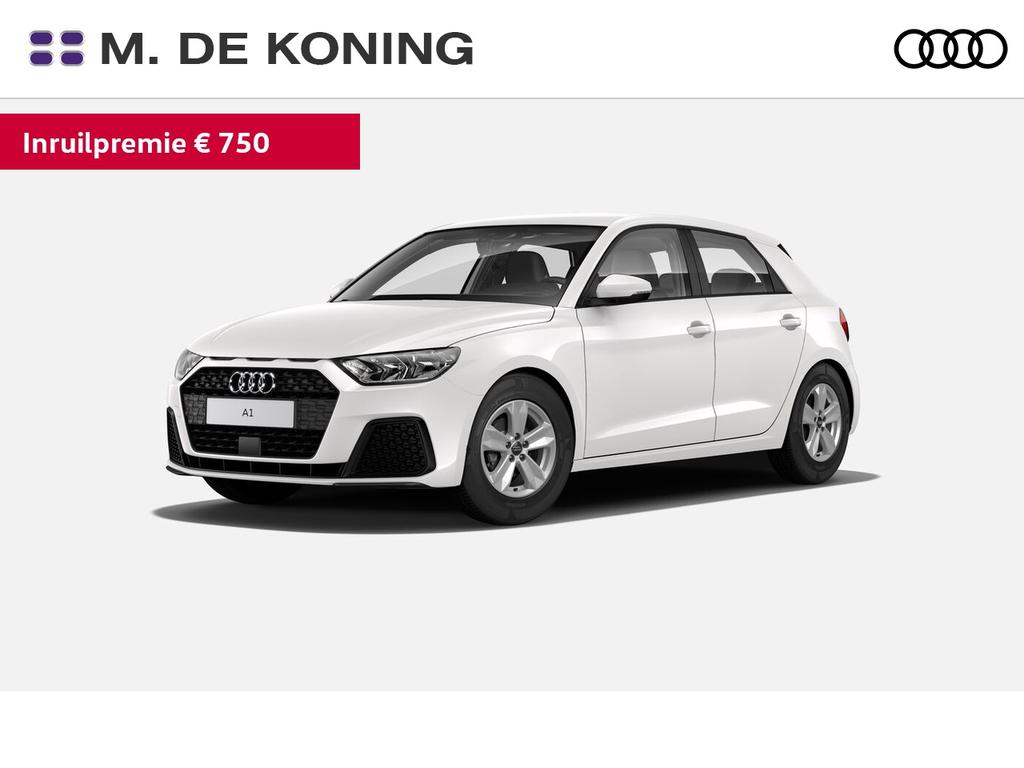 Audi A1 Sportback 25tfsi/95pk pro line · smartphone interface · sport stuurwiel · connected services