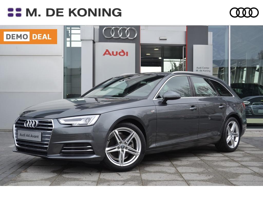 Audi A4 Avant 1.4tfsi/150pk lease edition s-tronic s-line · sportstoelen · connected services · parkeersensoren