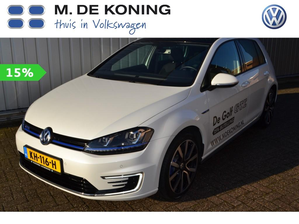 Volkswagen Golf 1.4 tsi gte 204pk pan. dak 15% bijtelling