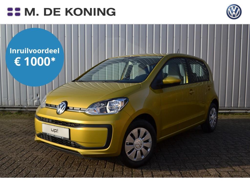 Volkswagen Up! Move up! 1.0/60pk · airco · led dagrijverlichting · dab+ radio