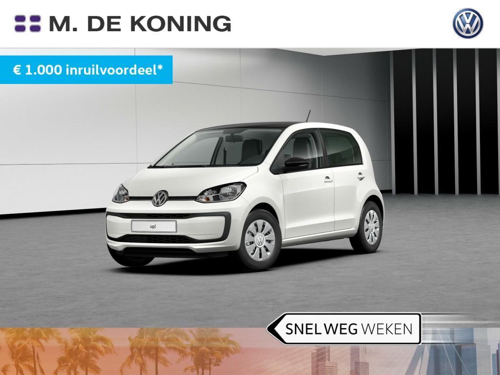 Volkswagen Up! 1.0/60pk move up! · airco · zwart dak · led verlichting