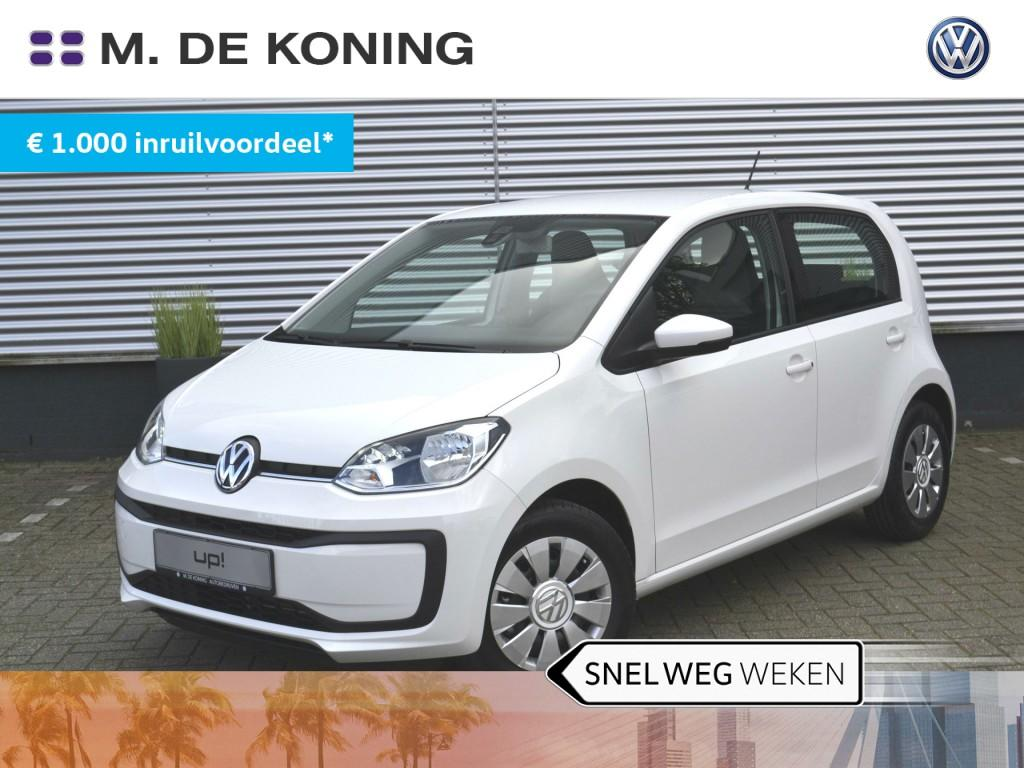Volkswagen Up! 1.0/60pk move up! · hill hold functie · airco · dab+ radio