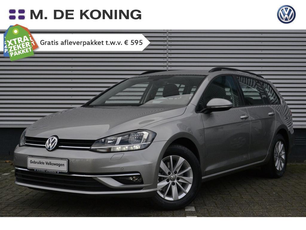 Volkswagen Golf Variant 1.4tsi/126pk comfortline dsg · ad. cruise control · navigatie · stoelverwarming