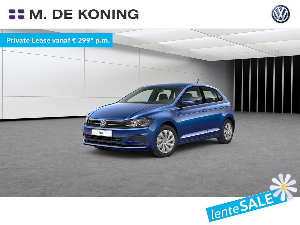 Volkswagen Polo 1.0tsi/95pk dsg automaat comfortline · active info display · navigatie · sportstoelen