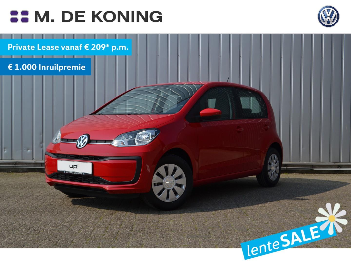 Volkswagen Up! 1.0 60pk move up! · regensensor · airconditioning · radio 'composition phone'