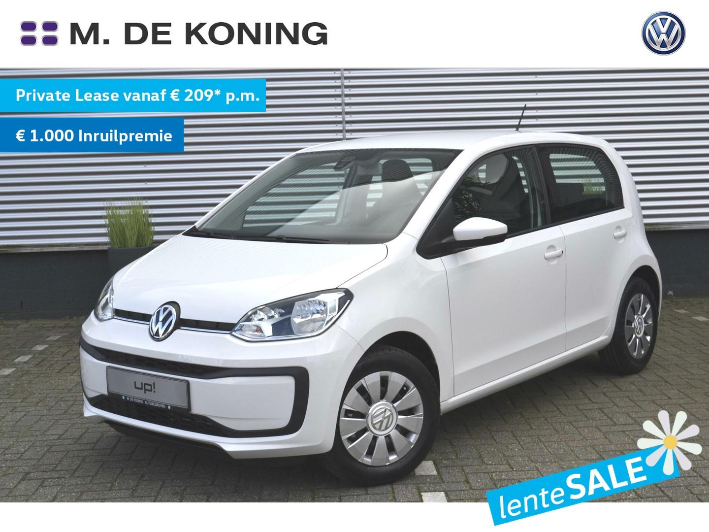 Volkswagen Up! 1.0/60pk move up! · cruise control · smartphone integratie · airconditioning