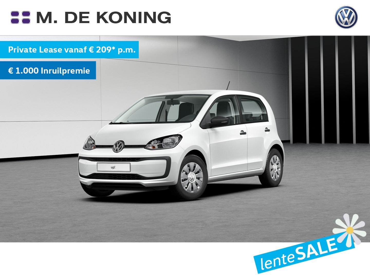 Volkswagen Up! 1.0/60pk take up! · airco · radio 'composition' · hill hold functie