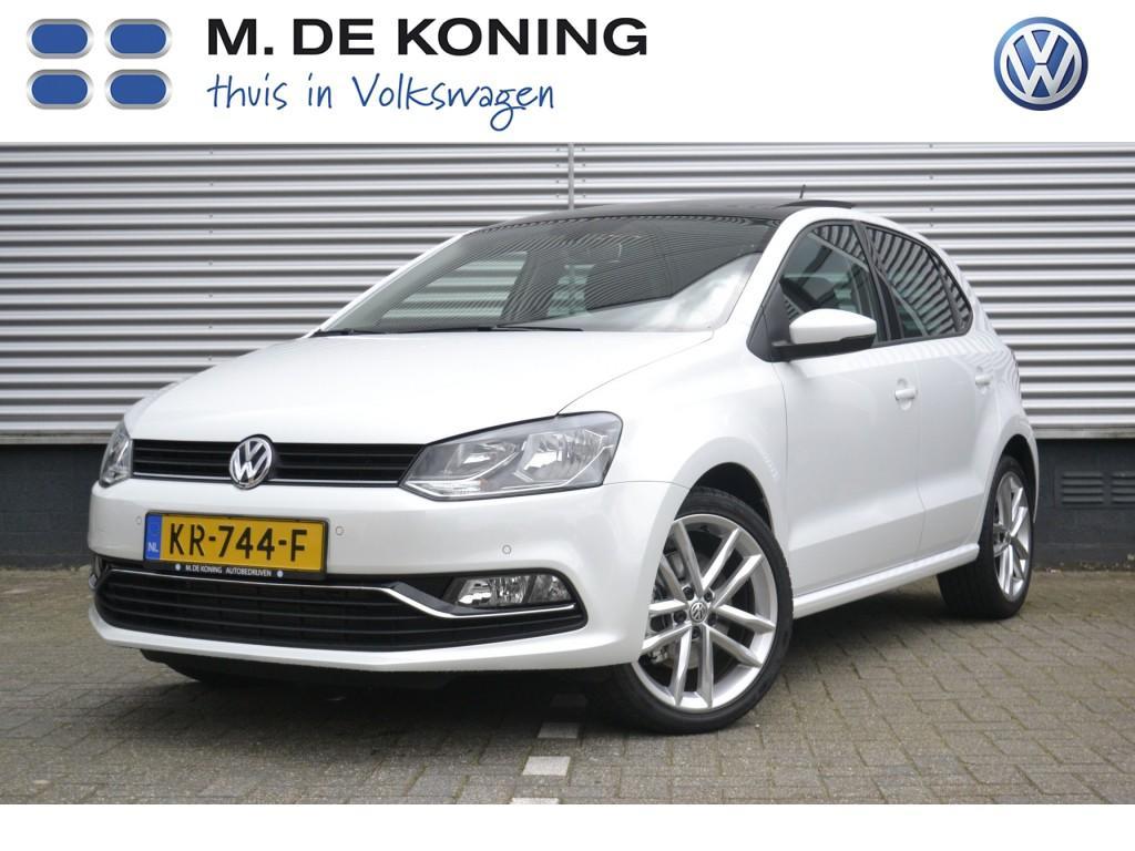 "Volkswagen Polo 1.0 tsi 110 pk highline pandak, 17"" lm, navigatie"