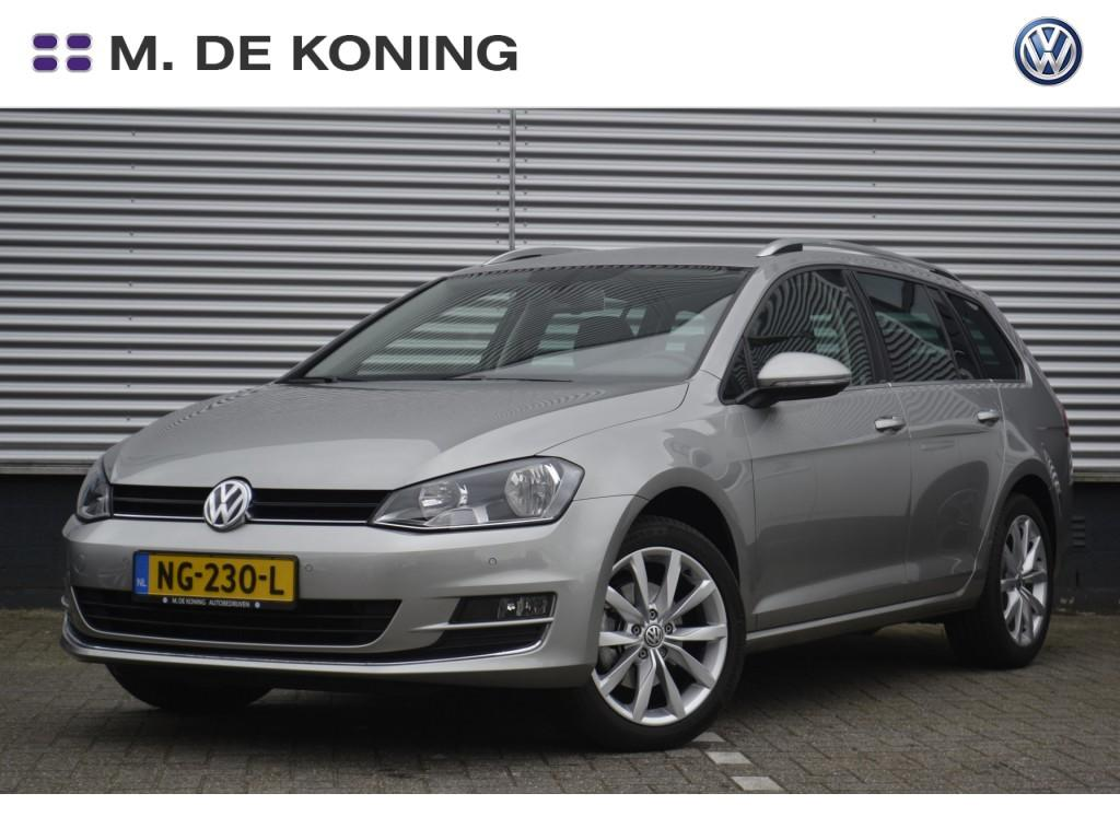 "Volkswagen Golf variant Connected series plus 1.6tdi/120pk · navigatiesysteem · dab+radio · 17""lm velgen"