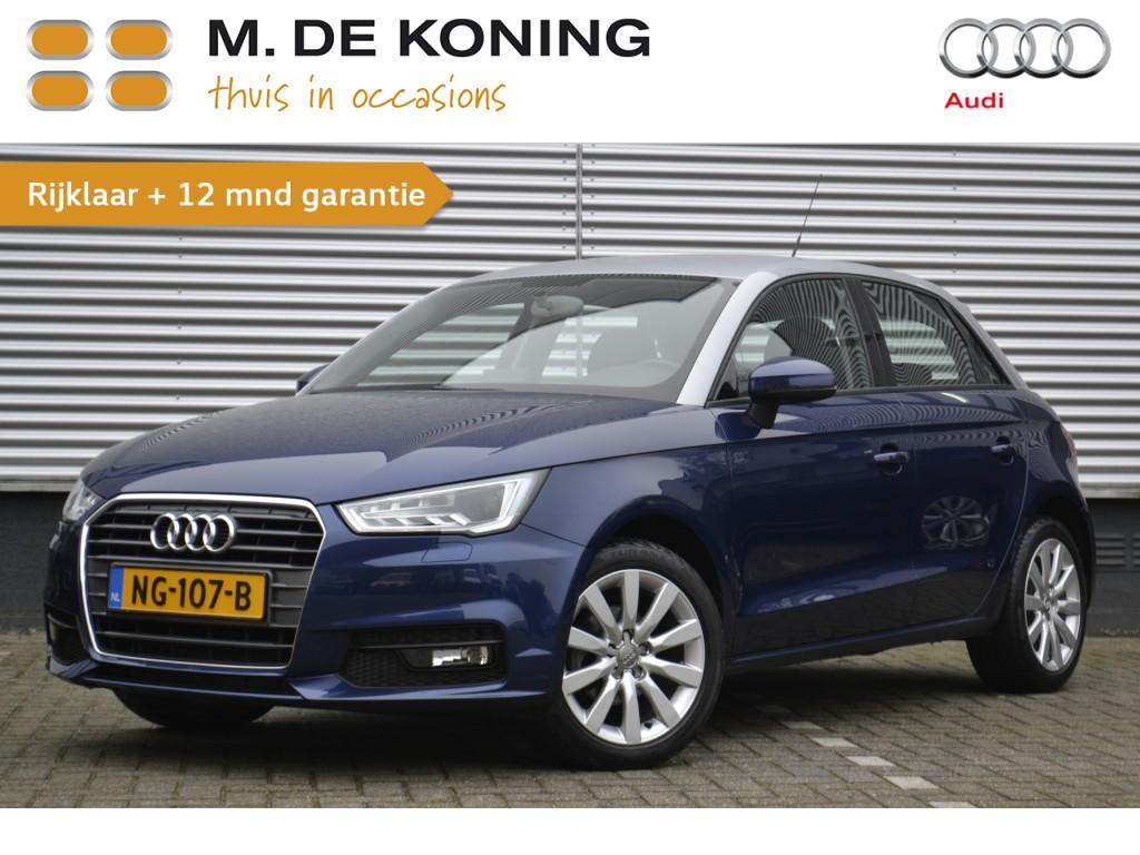 """Audi A1 Sportback 1.0 tfsi sport 95pk xenon, 16""""lm"""