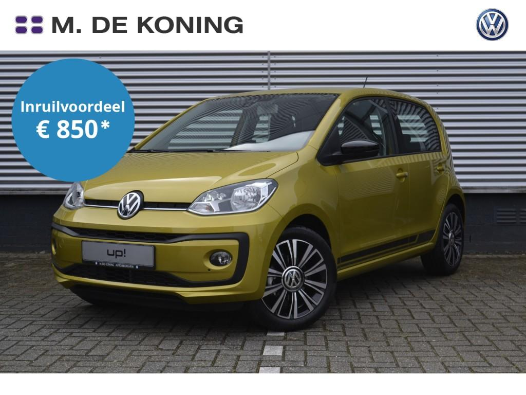 "Volkswagen Up! High up! 1.0/60pk · airco · cruise control · 16""lm velgen"