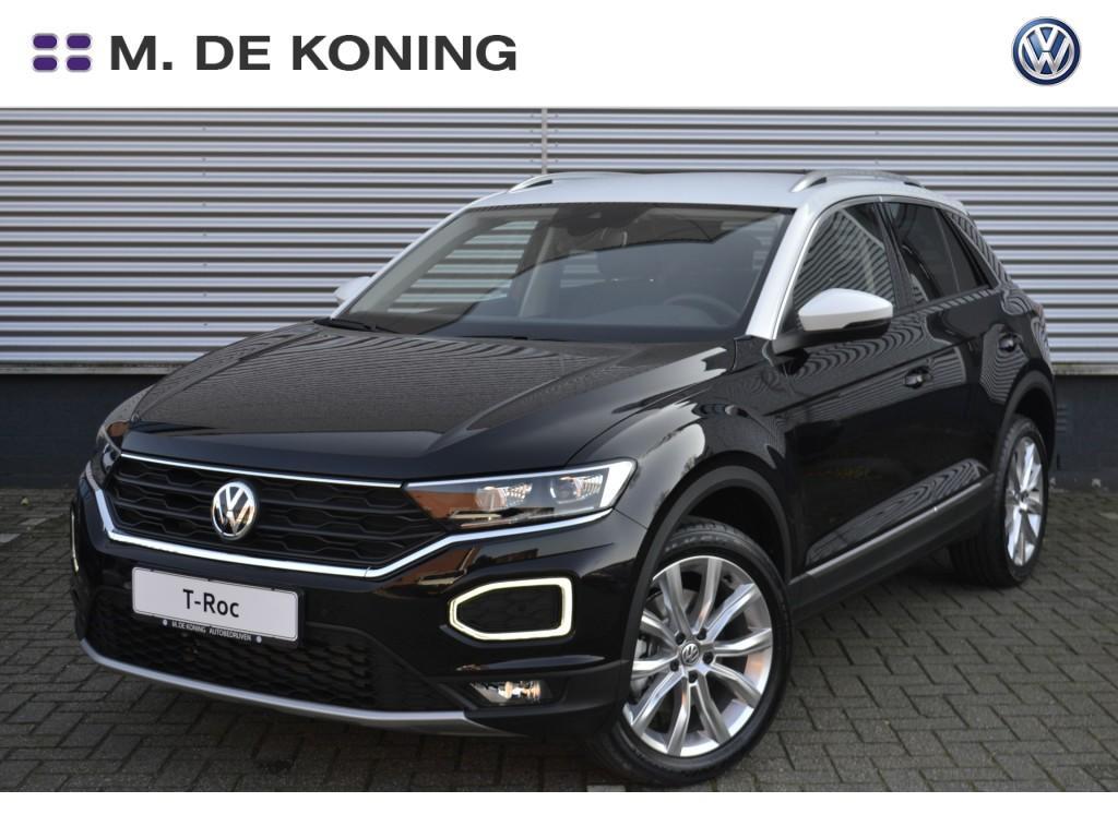 "Volkswagen T-roc Style 1.0tsi/115pk · 18""lm velgen · active info display · dab+radio"