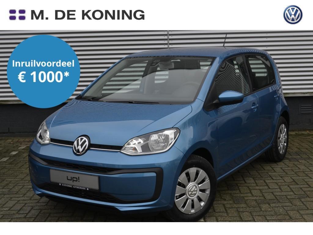 Volkswagen Up! Move up! 1.0/60pk · elektrische ramen + spiegels · dab+ radio