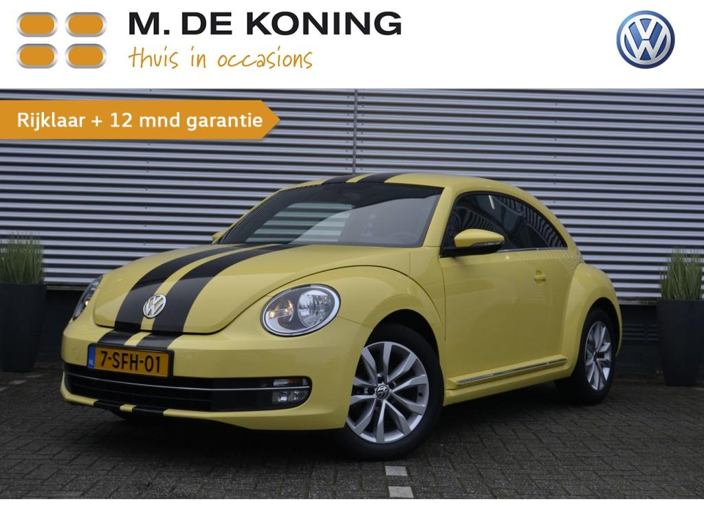 """Volkswagen Beetle 1.2 tsi design 105pk airco, cruise control, pdc, 17""""lm"""