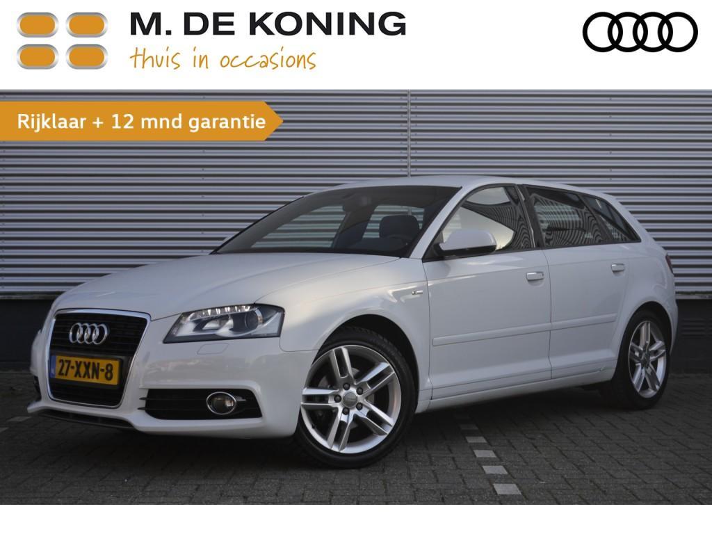 "Audi A3 Sportback 1.2 tfsi s edition navigatie, xenon, cruise control, 17""lm"