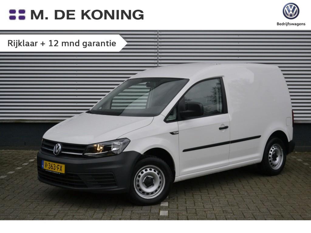 Volkswagen Caddy 2.0tdi/75pk trendline · airco · trekhaak · telefoonvoorbereiding