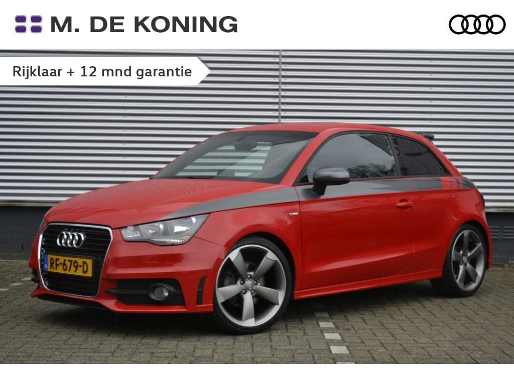 "Audi A1 1.4tfsi/185pk s-edition s-tronic ·navigatie · pdc· stoelverwarming ·18""lm"
