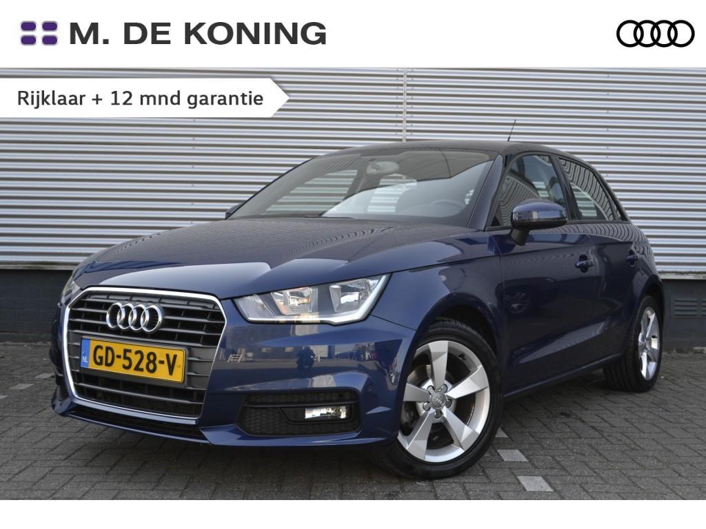 "Audi A1 Sportback 1.0tfsi/95pk sport pro line · navigatie · cruise control · 16""lm"