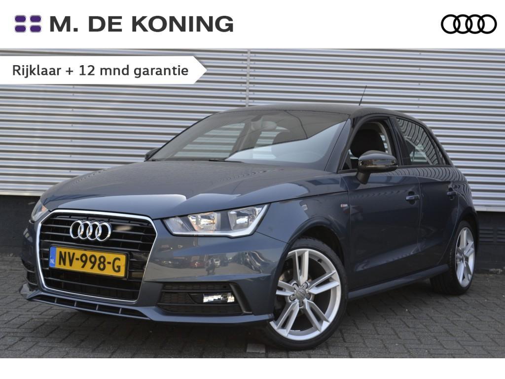 Audi A1 Sportback 1.0tfsi/95pk adrenalin · navigatie · connected · cruise control