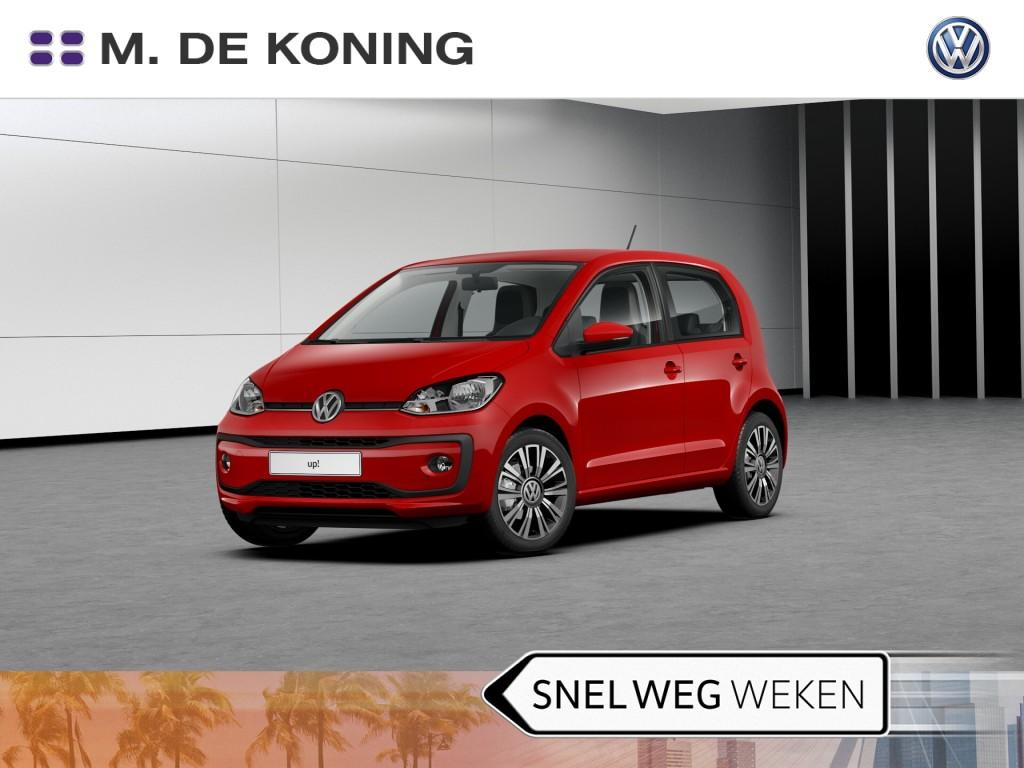 "Volkswagen Up! 1.0/60pk high up! · airco · cruise control · 16""lm velgen"