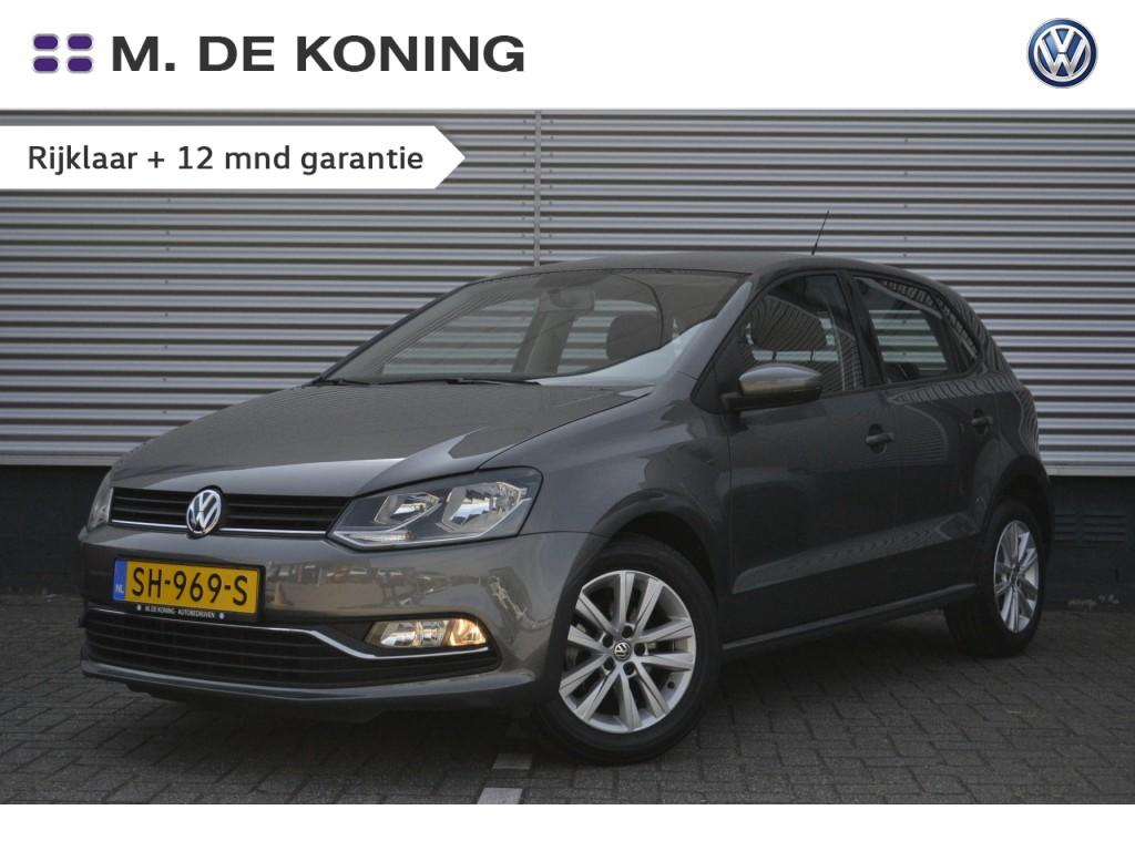 """Volkswagen Polo 1.0/75pk comfortline · cruise control · airco · 15""""lm"""