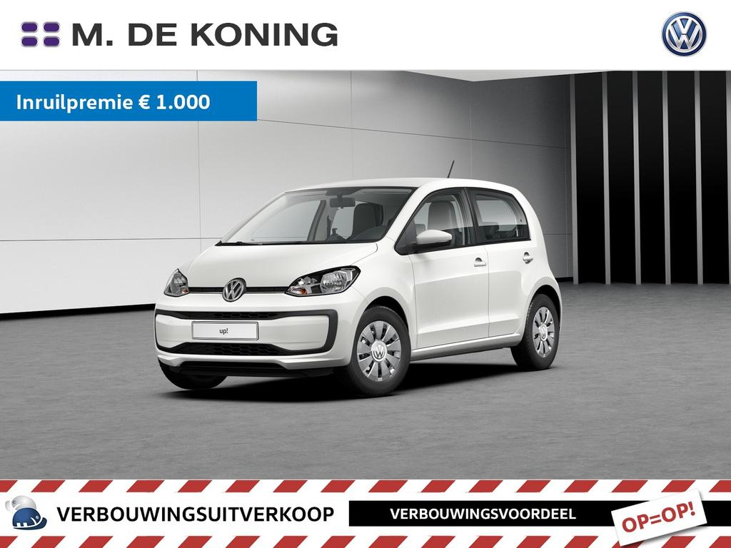 Volkswagen Up! 1.0/60pk move up! · cruise control · achteruitrijcamera · airconditioning