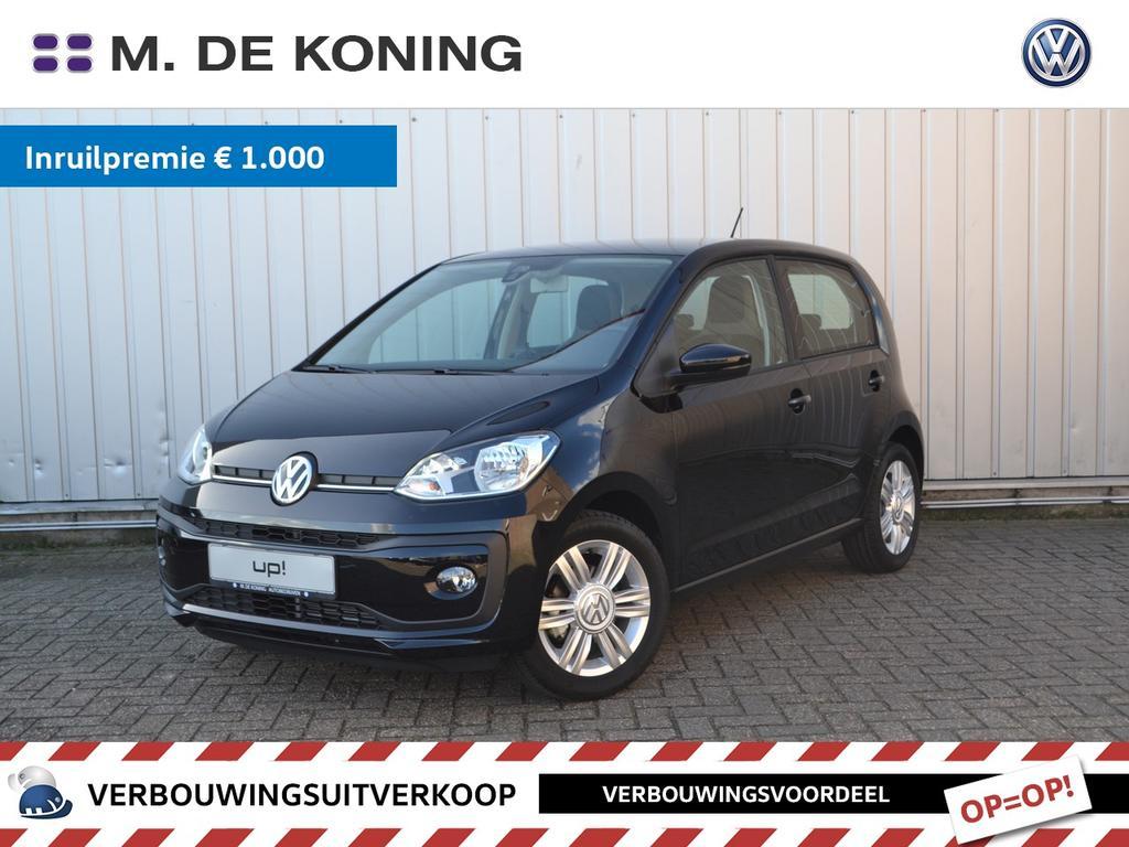 Volkswagen Up! 1.0/60pk high up! · airco · cruise control · leder stuurwiel