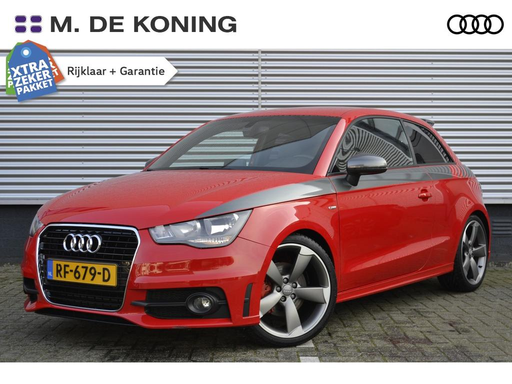 Audi A1 1.4tfsi/185pk s-edition · navigatie · leder/stof · stoelverwarming
