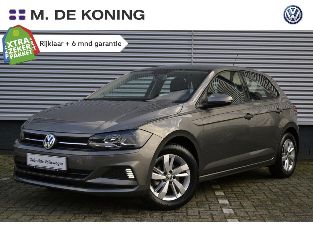 "Volkswagen Polo 1.0tsi/96pk comfortline · ad.cruise control · airco · 15""lm"