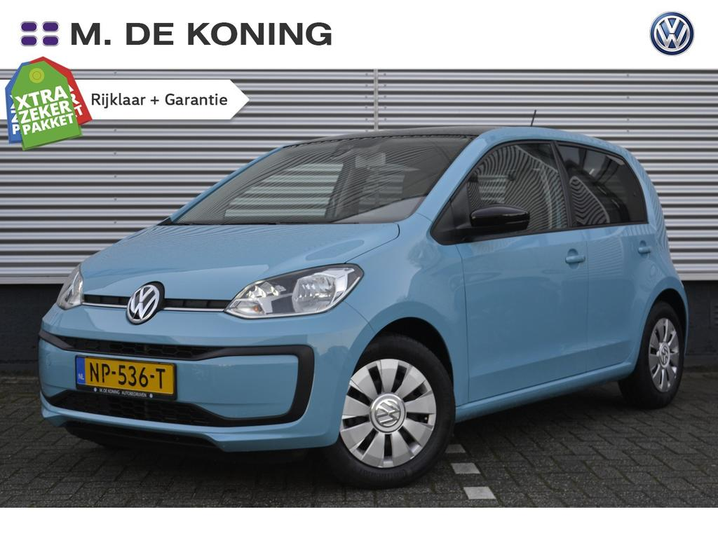 Volkswagen Up! 1.0/60pk move up executive · dab · airco · zwart dak