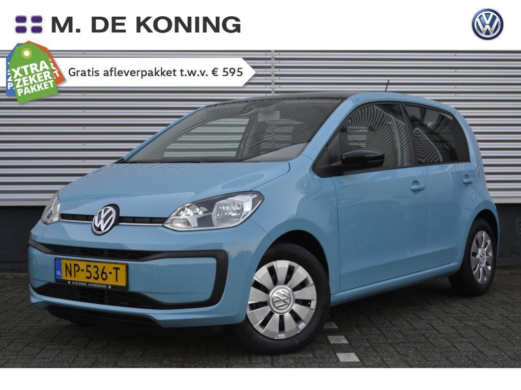 Volkswagen Up! 1.0/60pk move up executive · dab · airco · zwart dak