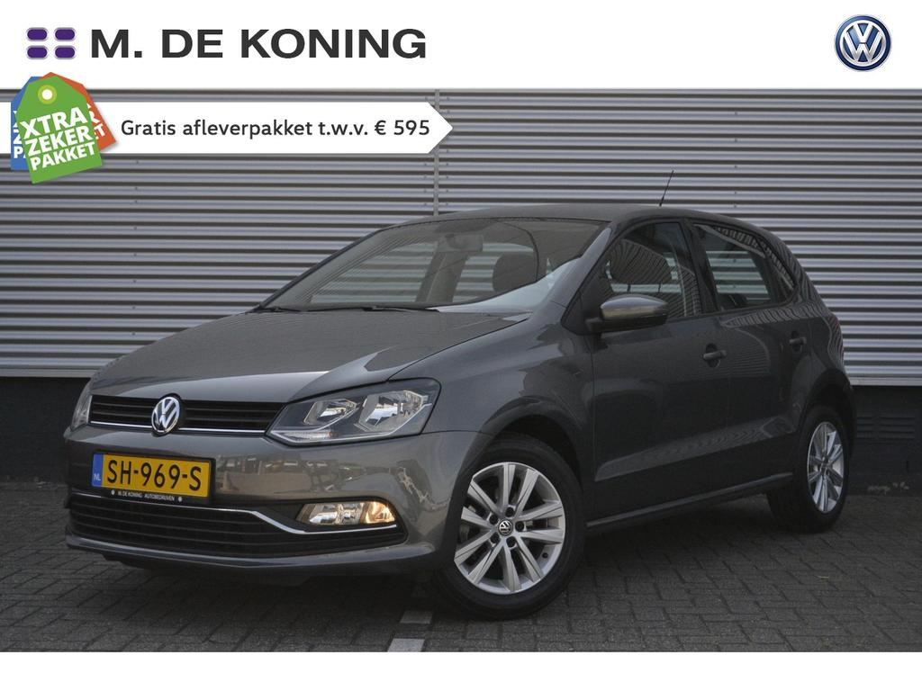 "Volkswagen Polo 1.0/75pk comfortline · cruise control · airco · 15""lm velgen"