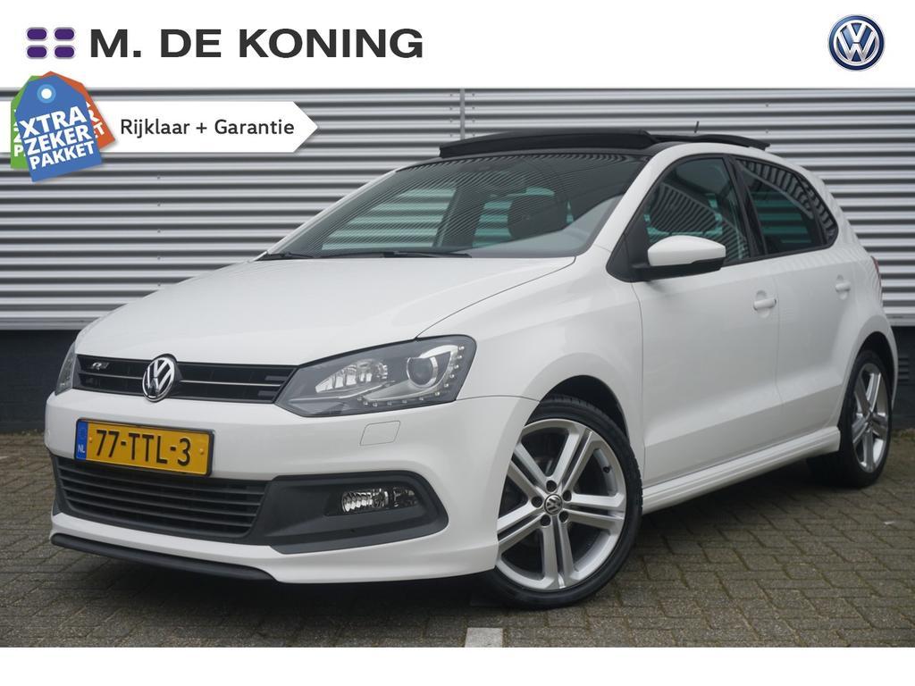 Volkswagen Polo 1.2tsi/90pk highline r · pan.dak · r-line · xenon