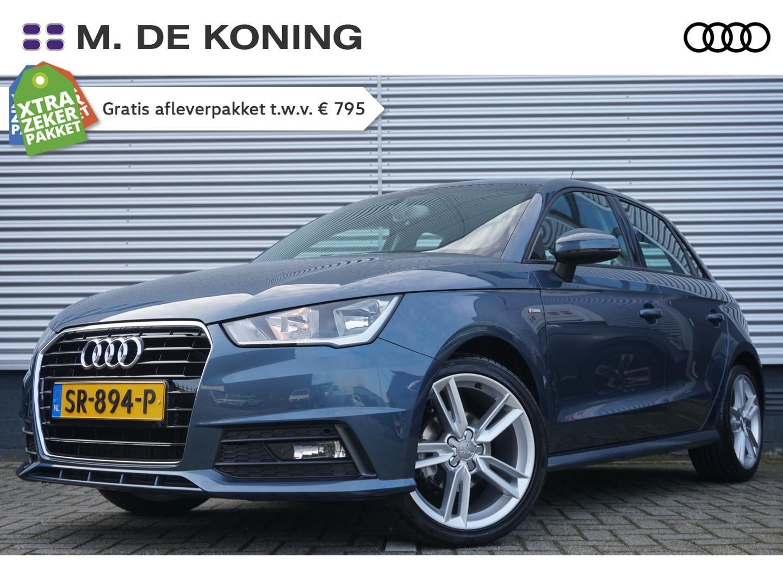 Audi A1 Sportback 1.0tfsi/96pk advance · navigatie · s-line · cruise control