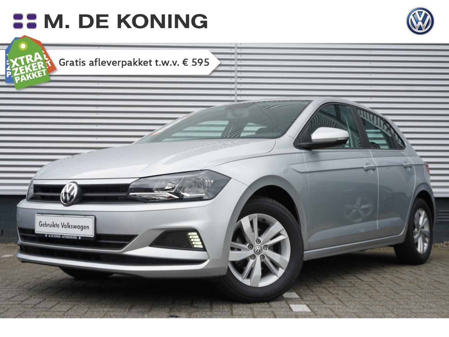 """Volkswagen Polo 1.0mpi/75pk edition · airco · connect · 15""""lm"""