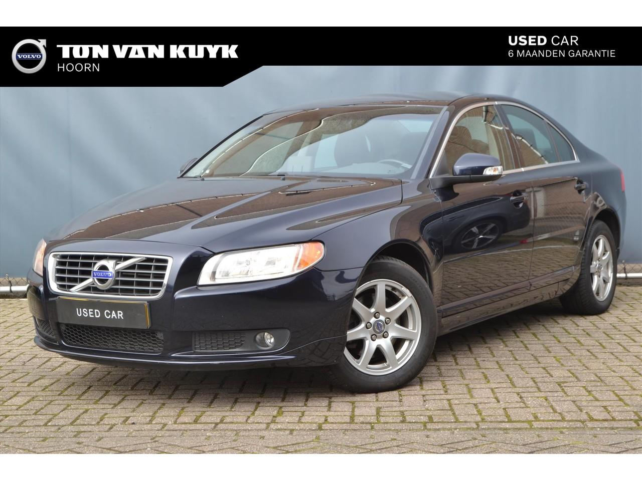 Volvo S80 2.4 d geartronic limited-edition nav tel.leer