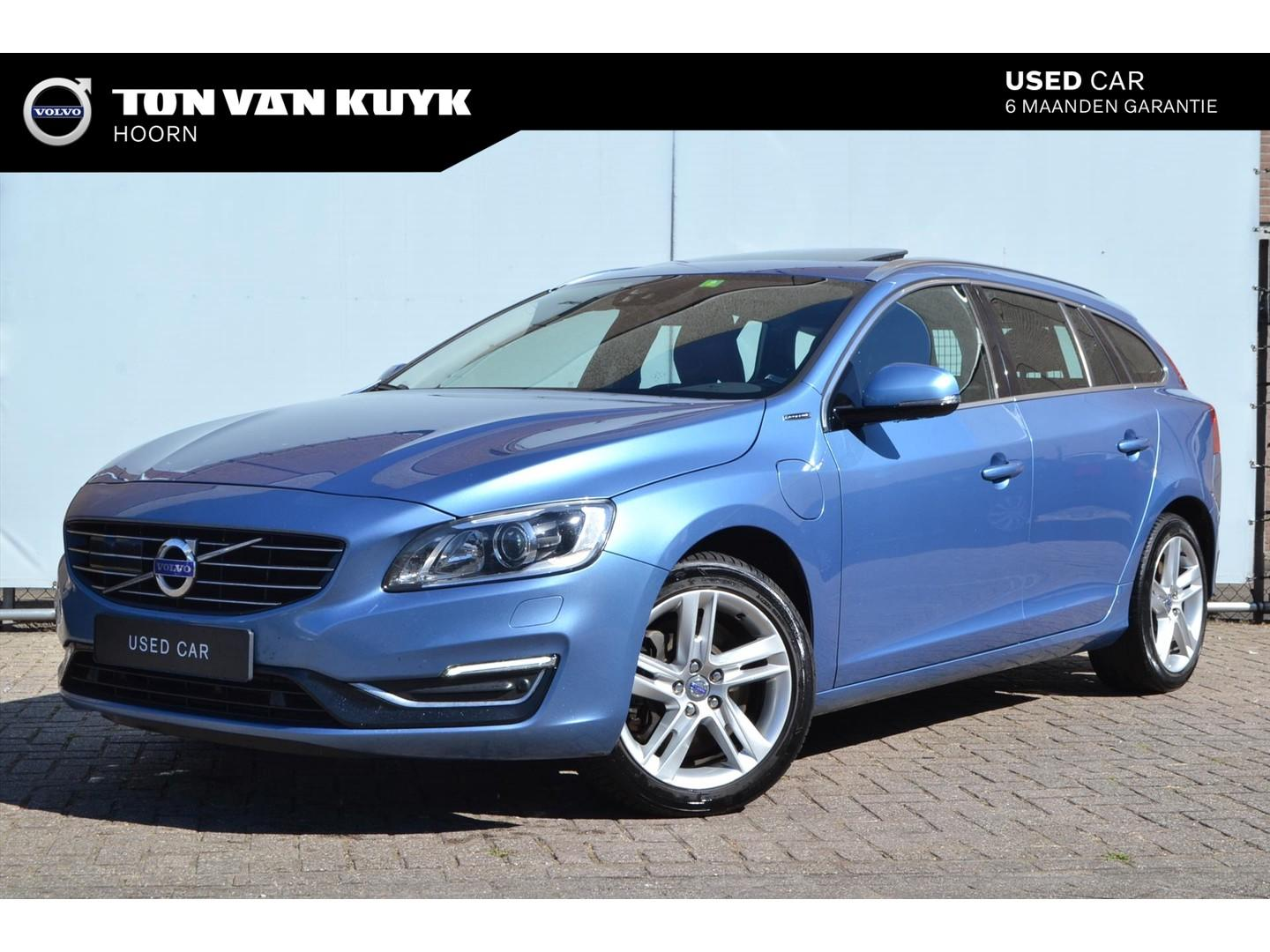 Volvo V60 D6 plug-in hybrid 283pk automaat awd / summum / drivers support