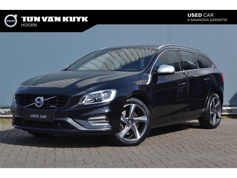 Volvo V60 D6 plug-in hybrid 283pk automaat awd r-design / 10jr accu garantie