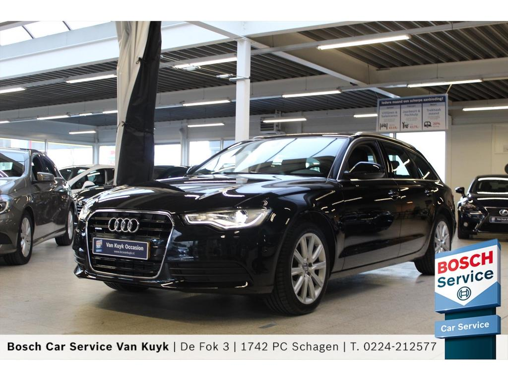Audi A6 3.0 tdi 204pk quattro pro line plus / sportstoelen / trekhaak /