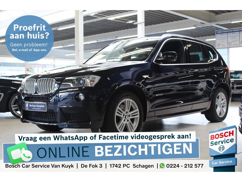 Bmw X3 Xdrive 28i 245pk aut. executive m-sport / panoramadak / navi /