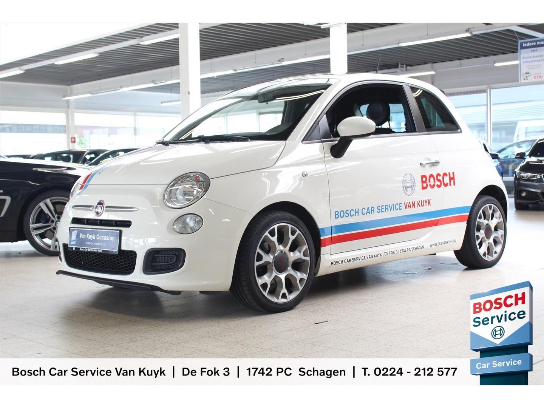 Fiat 500 0.9 80pk twinair turbo 500s airco / sportstoelen / blue & me