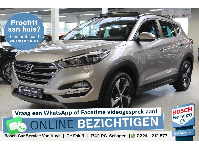 Hyundai Tucson 1.6 t-gdi 177pk premium leer / panoramadak / xenon / trekhaak